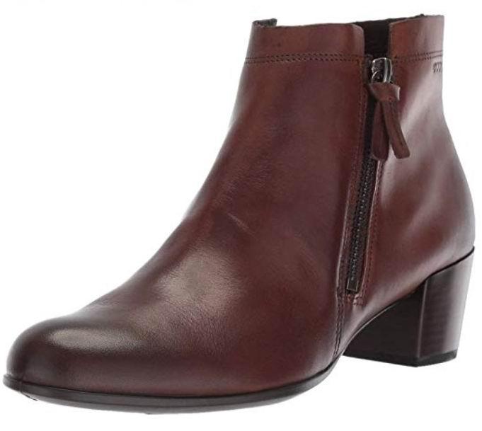 ECCO 爱步 Shape 型塑M 35系列 女士中跟短靴 105.71加元(2色),原价 168.93加元,包邮