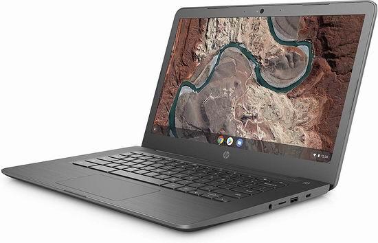 HP 惠普 14-db0002ca Chromebook 14英寸谷歌笔记本电脑(4GB, 64GB) 279.99加元包邮!