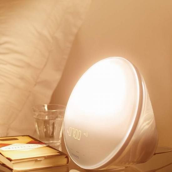Philips 飞利浦 HF3520 Wake-Up 小巨蛋 自然醒唤醒灯 119.95加元包邮!
