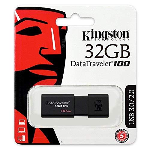 历史最低价!Kingston 金士顿 32GB 100 G3 USB 3.0 闪存盘/U盘 4.99加元!