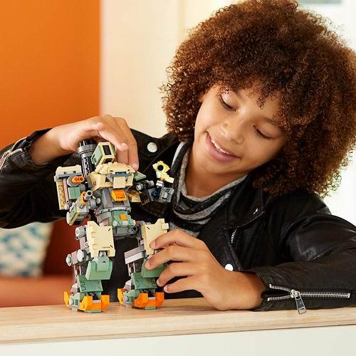LEGO 乐高 75974 变形金刚系列 守望先锋堡垒 7折 48.87加元,原价 69.99加元,包邮