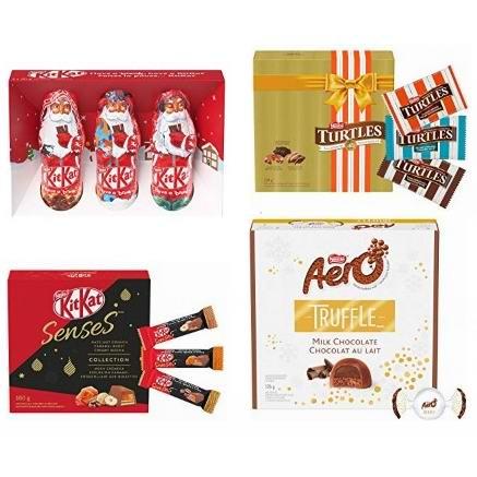 金盒头条:精选4款 Nestlé's 雀巢 节日系列巧克力 2.77加元起!