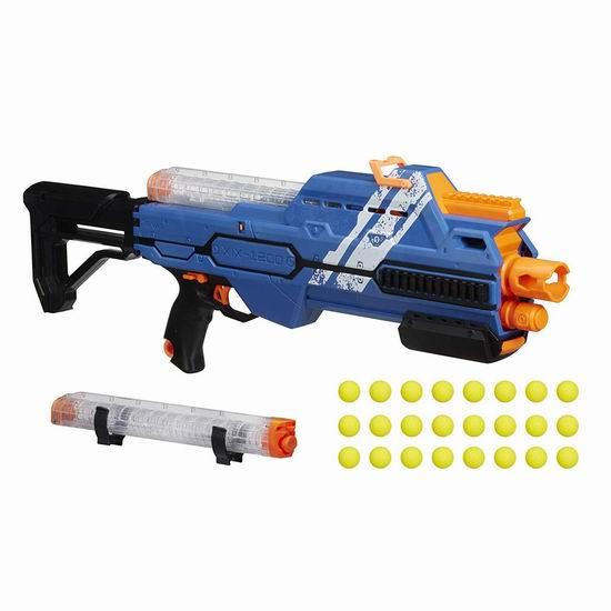 历史新低!Hasbro E29010920 NERF Rival 泡沫海绵玩具枪(24发软弹)3.5折 24.97加元!