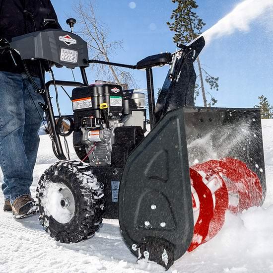 上新!Lowe's精选多款汽油铲雪机、电动铲雪机 最高立减500加元,折后低至149加元!