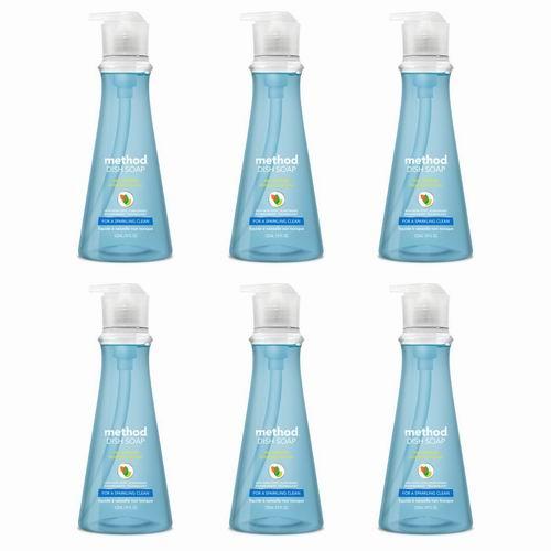 Method 清新海洋味 纯天然 纯净浓缩洗碗精  532ml x 6瓶 16.99加元,原价 23.94加元