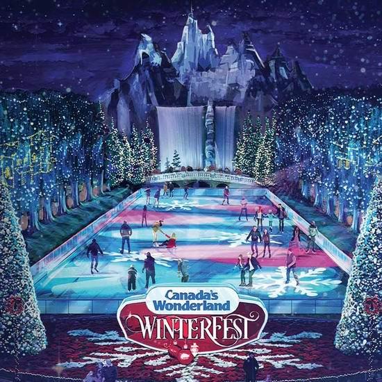 Canada's Wonderland 奇幻乐园 WinterFest 冬季嘉年华 门票变相5折!