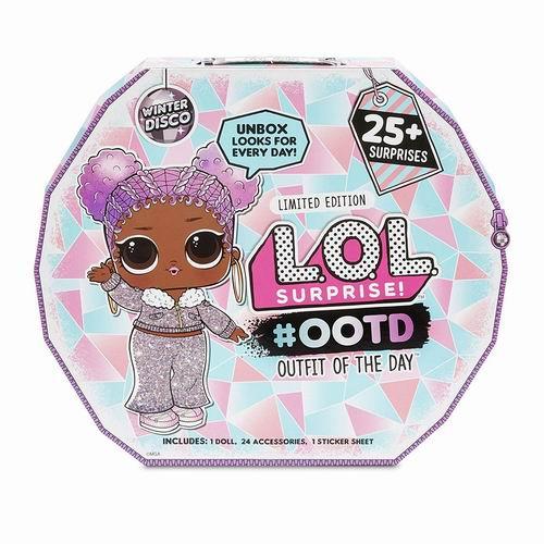 L.O.L. Surprise  娃娃全新 2019 ootd 降临节日历冬季迪斯科服装拆拆球 34.97加元,原价 44.95加元