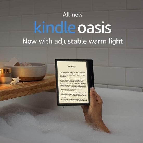黑五价!全新 All-new Kindle Oasis 旗舰版 7英寸超清电子书阅读器 254.99加元包邮!
