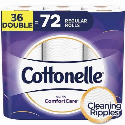 黑五史低价!Cottonelle 36卷双层超软卫生纸 12.53加元,原价 19.99加元