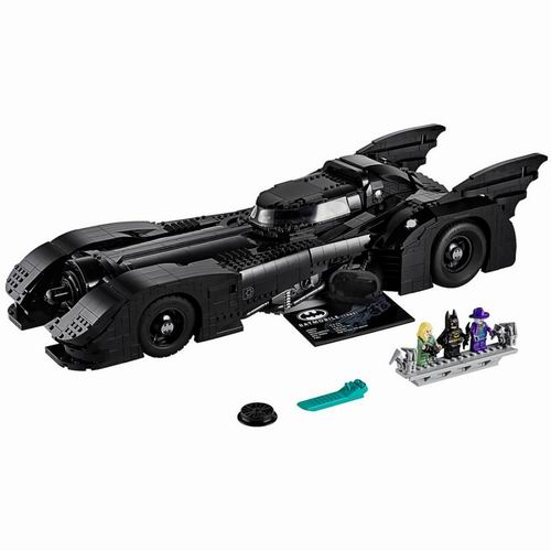 LEGO 乐高 1989 Batmobile 蝙蝠侠战车献礼80周年 售价299.99加元