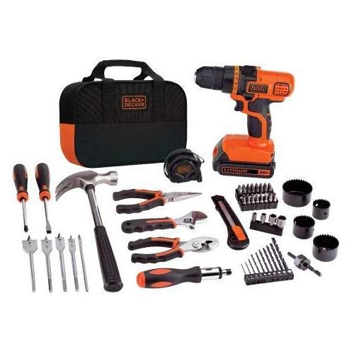 金盒头条:精选多款 Black + Decker 家用电动工具、便携式工具台4.6折起!
