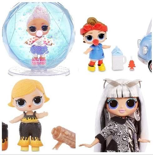 精选多款 L.O.L. Surprise! 惊喜娃娃球及相关玩具7.5折 11.96加元起