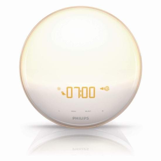 Philips 飞利浦 HF3520 Wake-Up 小巨蛋 自然醒唤醒灯 119.99加元包邮!
