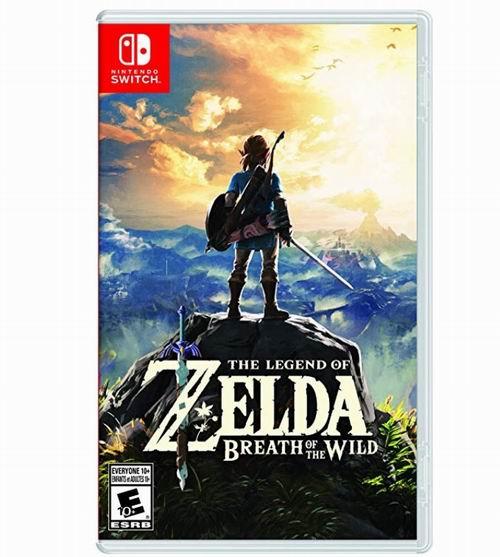 《The Legend of Zelda: Breath of the Wild 塞尔达传说 旷野之息》Switch版游戏 59.96加元,原价 79.99加元,包邮