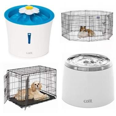 金盒头条:精选宠物笼子、围栏、自动饮水器、鱼缸过滤器、毛刷等宠物用品6.2折起!