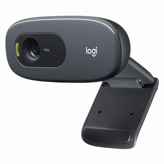 远程办公必备!Logitech 罗技 C270 720p 高清视频通话 网络摄像头 32.32加元!