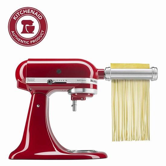 折扣升级!Kitchenaid KSMPRA 厨师机 面条/压面切面器配件3件套6.1折 169.99加元包邮!