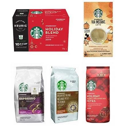 金盒头条:精选多款 Starbucks 星巴克 烘培咖啡豆、咖啡粉、咖啡胶囊5.5折起!
