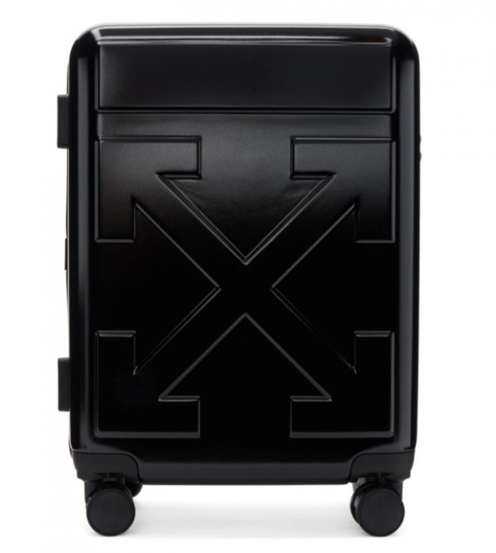Off-White  Arrows Trolle箭头随身行李箱 731加元,原价 1405加元,包邮