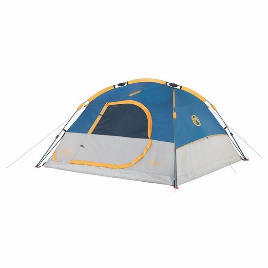 白菜速抢!Coleman Camping Flatiron 3人圆顶帐篷1.4折 27.95加元清仓!
