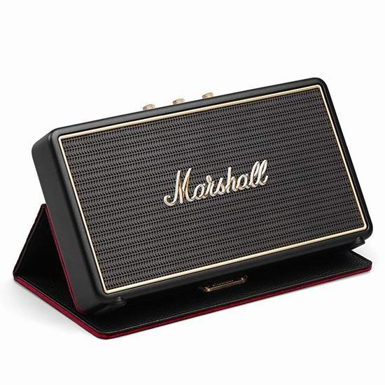 历史新低!MARSHALL Stockwell 高颜值蓝牙音箱+保护套3.7折 129.97加元包邮!