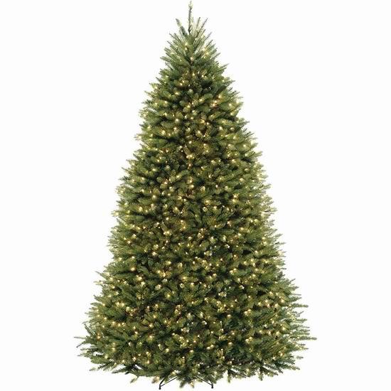 金盒头条:精选多款 National Tree 品牌圣诞树3.4折起清仓,低至4.99加元!