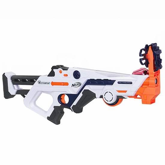 白菜速抢!Hasbro 孩之宝 Nerf Laser Ops 激光玩具枪2折 4.96-6.96加元清仓!