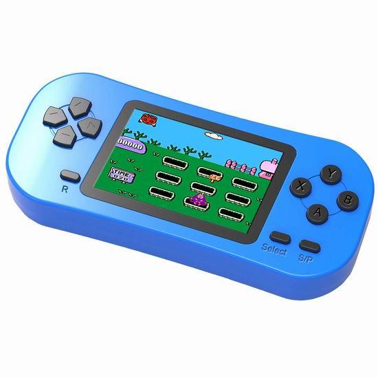 Douddy 218合一 复古掌上游戏机 21.48加元限量特卖!4色可选!重温儿时经典游戏!