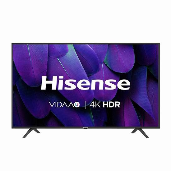 历史最低价!Hisense 海信 55H7709 50英寸/55英寸  4K超高清LED智能电视 328-379.99加元包邮!