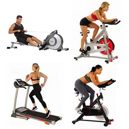 金盒头条:精选5款 Sunny Health & Fitness 跑步机、健身自行车、划船器7折起!低至111.99加元!