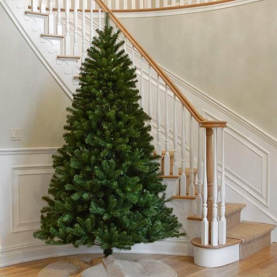 历史新低!National Tree 7.5英尺 North Valley 圣诞树 108.99加元包邮!