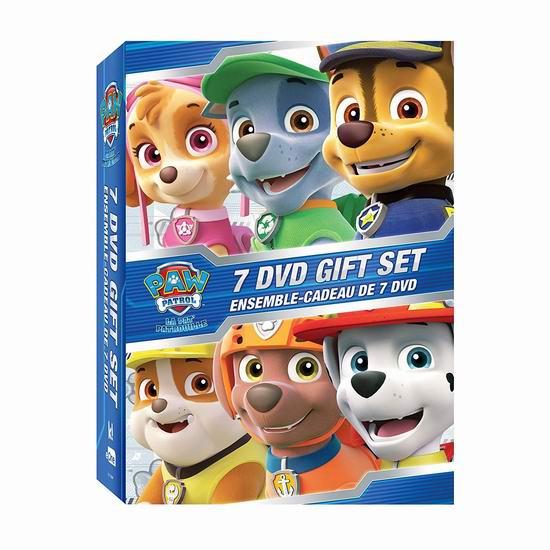 金盒头条:《PAW Patrol 汪汪队立大功》动画片7 DVD合集 19.99加元!