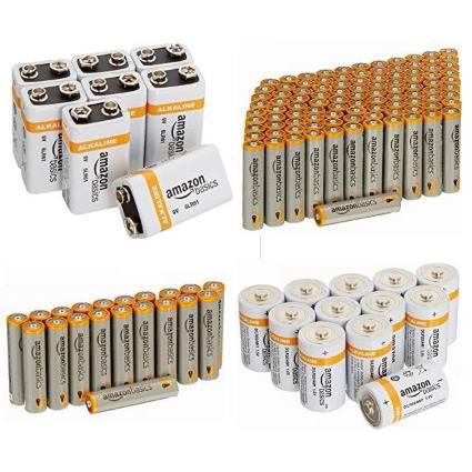 金盒头条:精选多款 AmazonBasics 高性能干电池全部7折!