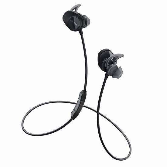 历史最低价!Bose SoundSport无线运动降噪耳机 119加元包邮!3色可选!