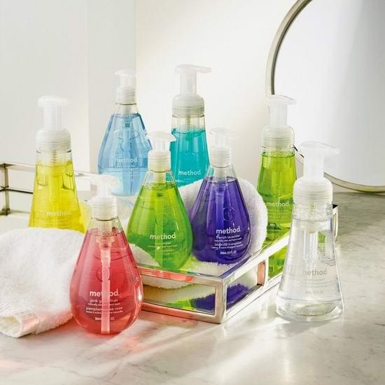 Method 天然清香泡沫洗手液(10盎司×6瓶) 12.56-13.56加元!2款可选!