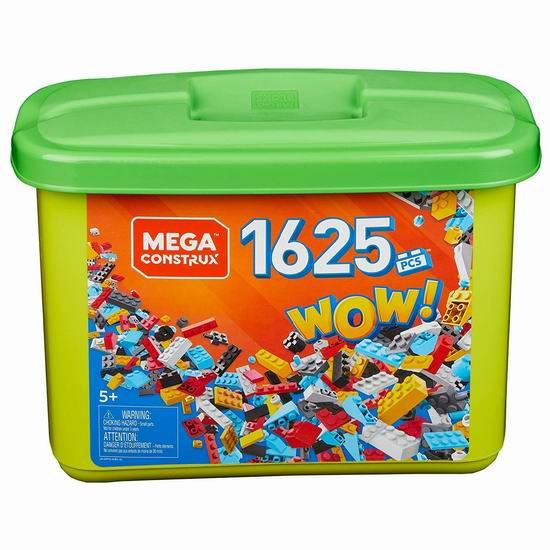 Mega Construx 经典积木(1625pcs)4.5折 26.95加元!