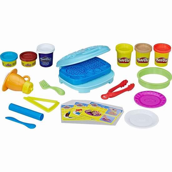 历史新低!Play-Doh 培乐多 Arts & Crafts 早餐橡皮彩泥套装3.1折 7.74加元!