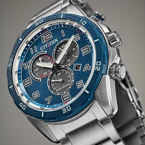 历史新低!Citizen 西铁城 AT2440-51L LTR 三眼计时 光动能 男式腕表/手表3.5折 150.1加元包邮!
