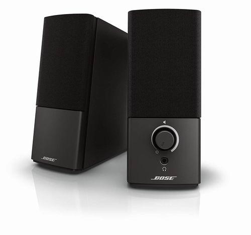 Bose Companion 2 Series III 多媒体音箱 98加元包邮!带来影院般体验!