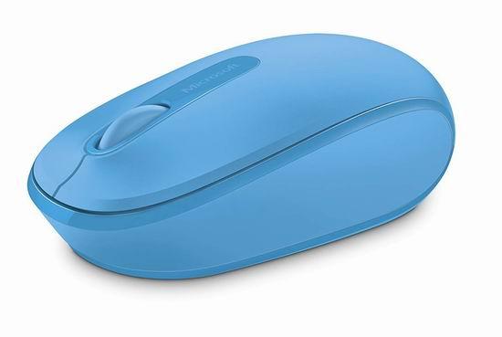 历史最低价!Microsoft 微软 1850 无线便携鼠标 9.99加元!4色可选!