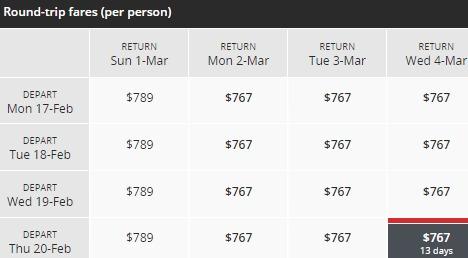 Air Canada 加航 双12大促,亚洲指定航线机票8.8折,加拿大境内8.5折!春节回国低至497加元!