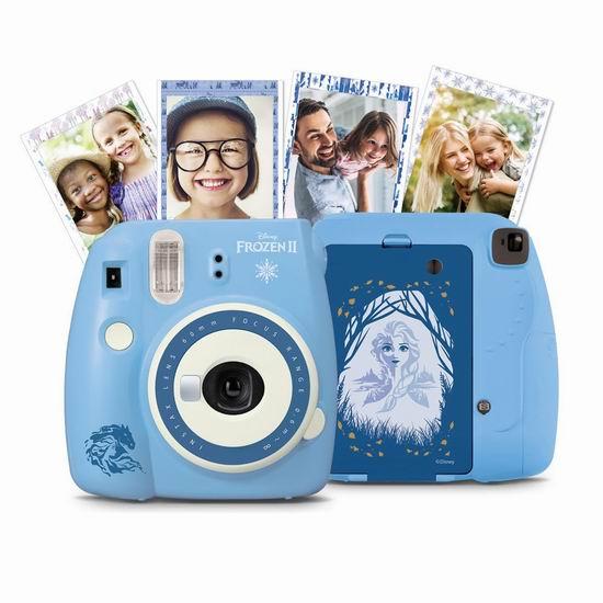 历史最低价!Fujifilm Instax Mini 9 冰雪奇缘2 拍立得相机 69.95加元包邮!