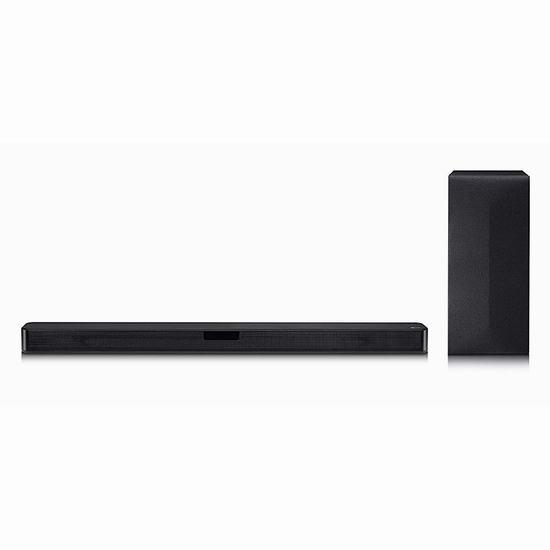 LG SL4 300W 2.1声道 家庭影院 回音壁音箱6.3折 189加元包邮!