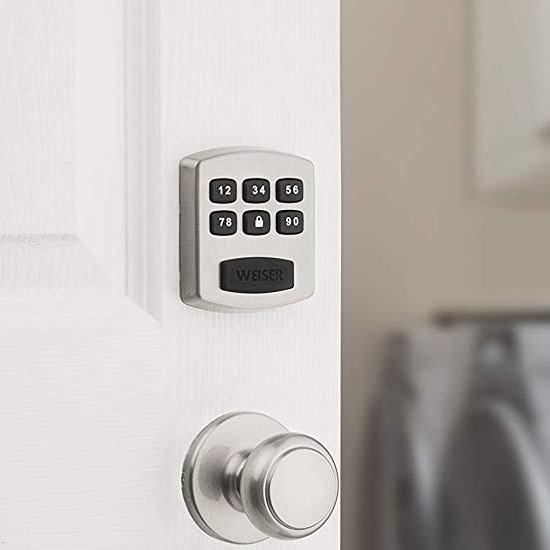 历史新低!Weiser Powerbolt 1 电子密码门锁4.2折 38加元包邮!2色可选!