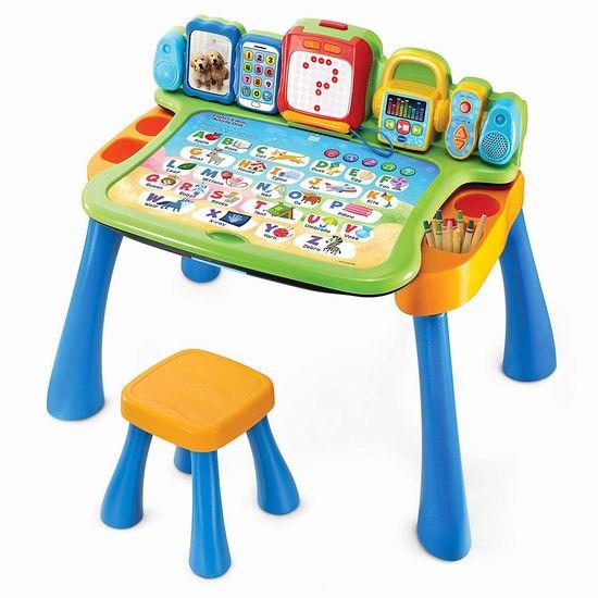 历史新低!VTech 伟易达 Explore 四合一 宝宝探索 早教游戏桌 50.86加元包邮!