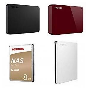 金盒头条:精选多款 Toshiba 东芝移动硬盘、NAS硬盘69.99加元起!