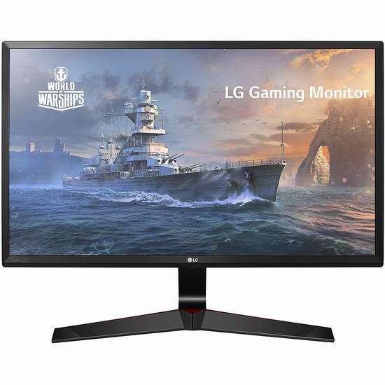 历史新低!LG 24MP59G-P 24英寸 FreeSync 游戏显示器 97.99加元包邮!