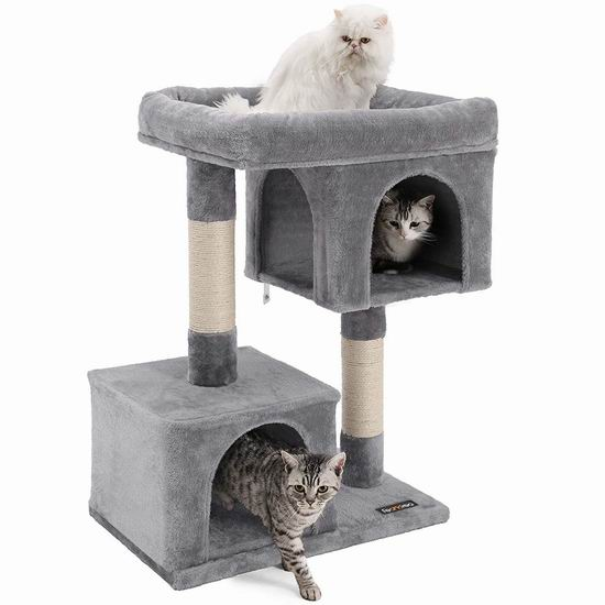 金盒头条:历史新低!FEANDREA UPCT61W 猫树公寓/猫爬架 67.49加元包邮!3色可选!
