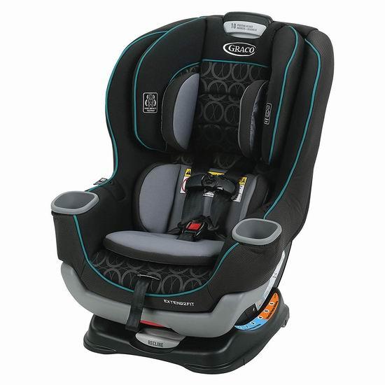 历史新低!Graco Extend2Fit 双向婴幼儿汽车座椅5.1折 152.97加元包邮!