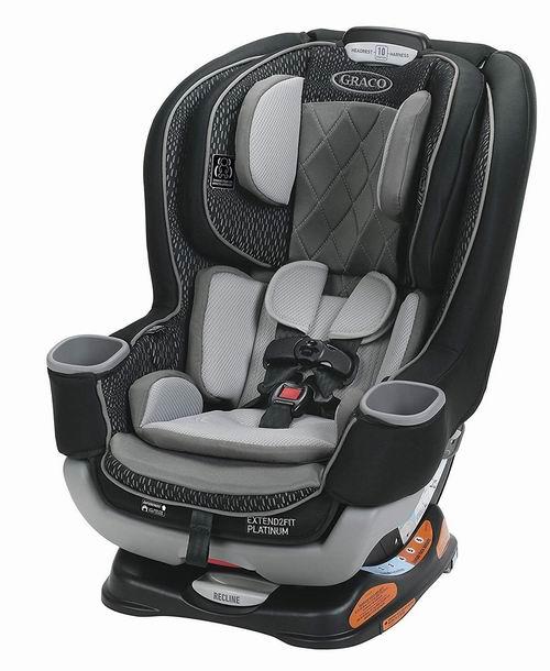 Graco Extend2Fit Platinum 双向儿童安全座椅 7折  279.97加元,原价 399.99加元,包邮